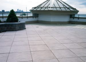 Roof Terrace Pavers Archives Brooklin Concrete Products